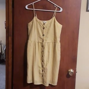 Maurices Dresses - Golden Button Down Dress